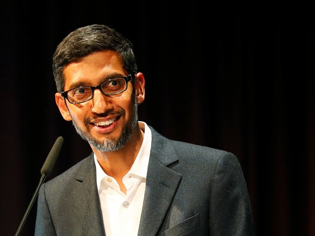 Page, Brin Get a '$2 Billion Gift' for Naming Pichai as Alphabet CEO