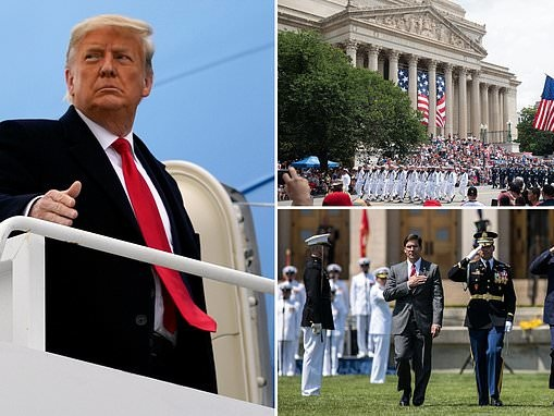 Pentagon denies Donald Trump's request for a military-style farewell parade