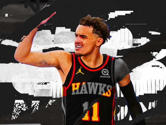Trae Young is ready for his moment in the NBA Playoffs