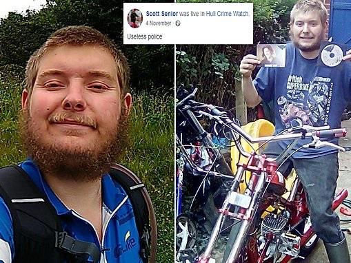 Hull Crime Watch volunteer Scott Senior jailed for hitting police officer with walking stick