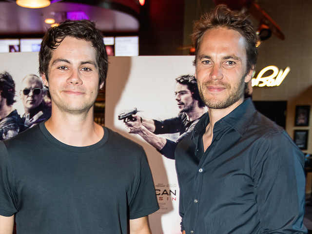 Dylan O'Brien & Taylor Kitsch Bring 'American Assasin' to Austin