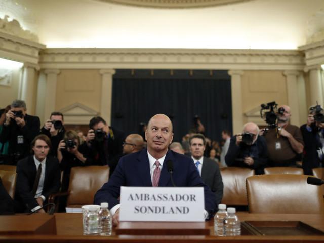 Impeachment Hearings Continue With Gordon Sondland Testimony