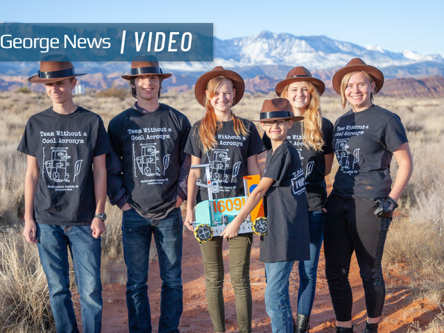 Southern Utah robotics team secures state championship bid after placing in three categories