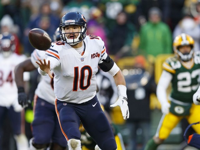 The Bears' top priority was an expensive Mitchell Trubisky backup plan