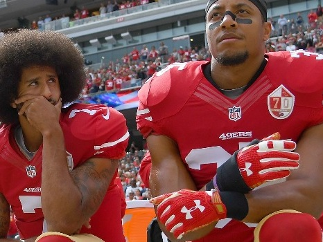 Colin Kaepernick's Private NFL Workout Seems Like a PR Stunt, Says Eric Reid and Sportswriter