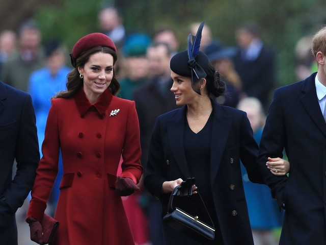 """The Palace's Response To Rumors Kate Middleton's """"Exhausted"""" After Meghan & Harry's Exit Is Intense"""