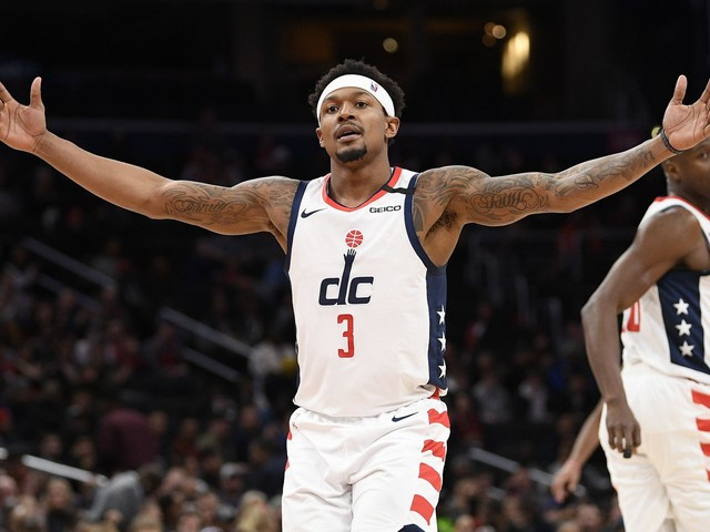 Bradley Beal is putting up all-star stats for the Wizards: 'The guy is money'