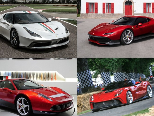 Ferrari's One-Off Creations is A List of the Most Desirable Prancing Horses of All Time