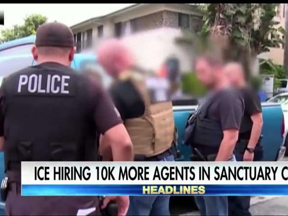 Acting ICE Director Homan Preparing Sanctuary City Crackdown, Hiring More Agents