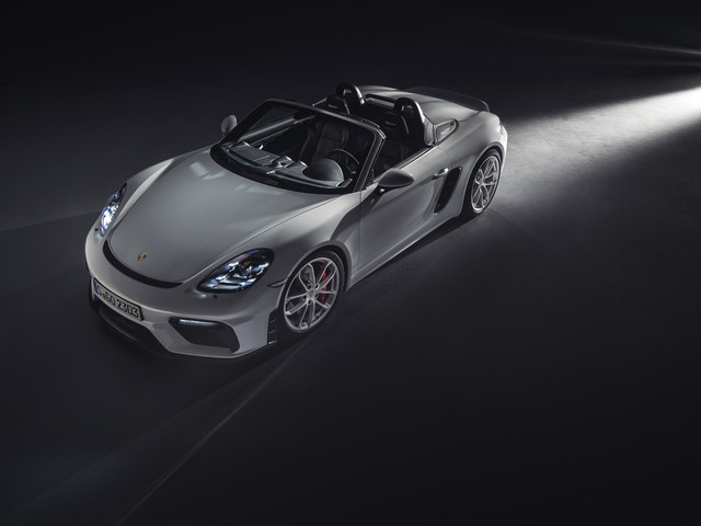 This Just In: Porsche Introduces New 718 Spyder and 718 Cayman GT4 Models