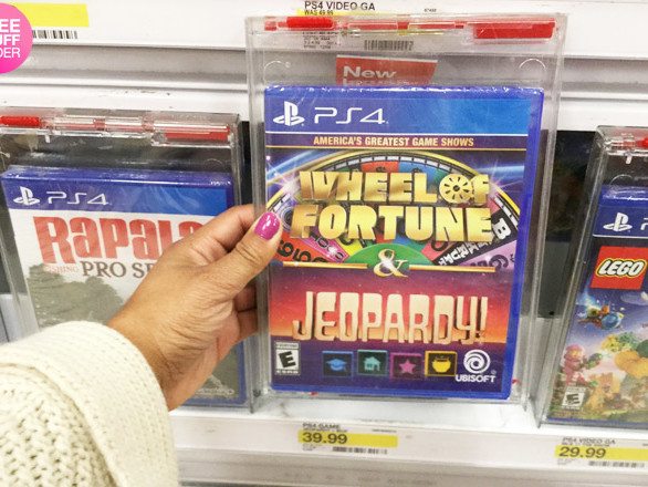 *NEW* 50% Off Gameshow Video Games Cartwheel Offer (Only $19.99 – Load Now!)