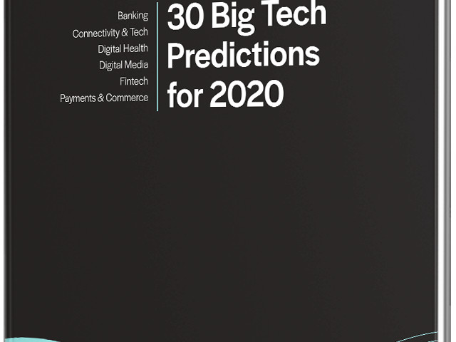 30 Big Tech Predictions for 2020