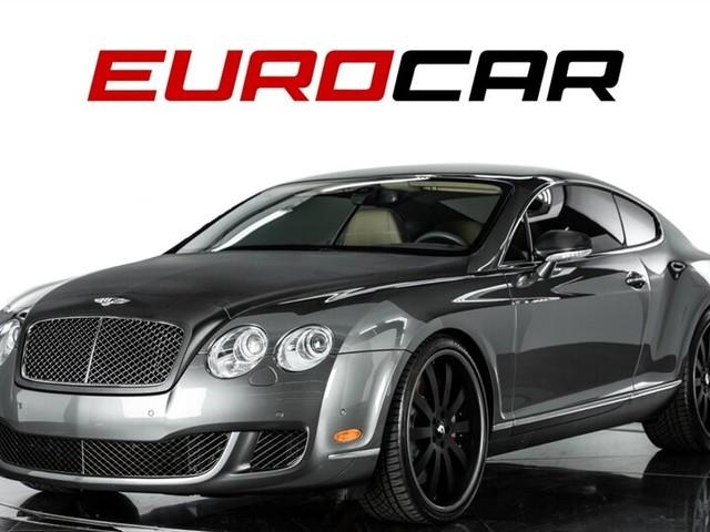 2008 Bentley Continental--GT--Speed