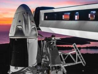 NASA, SpaceX OK 1st test flight of crew capsule next week