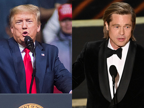 Donald Trump Shades Brad Pitt Over Oscars Speech & Says He Was 'Never A Fan' — 'He's A Wiseguy'