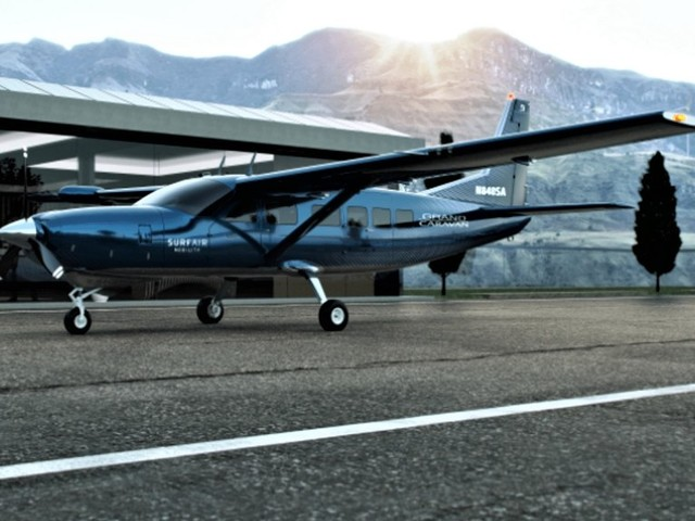 Accelerating Electric Commercial Aviation: Surf Air Mobility Orders up to 150 Cessna Grand Caravans