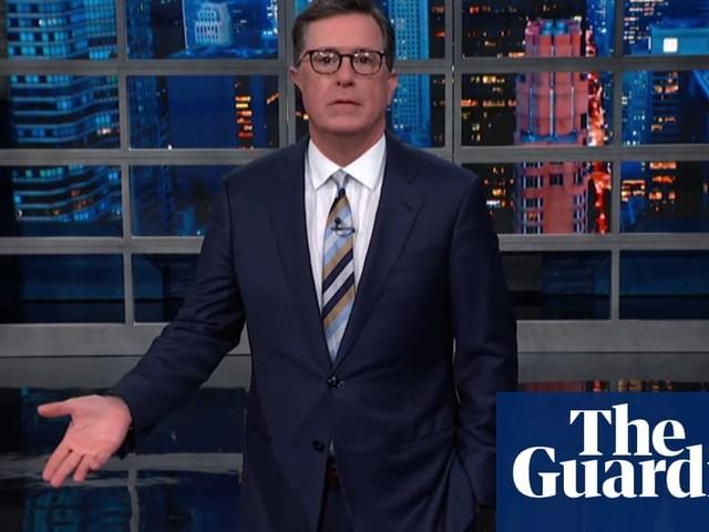 Stephen Colbert on Trump's racist attack: 'A new personal best in being the worst'