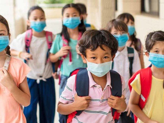 CDC Says Keep Masking Kids or Open a Window