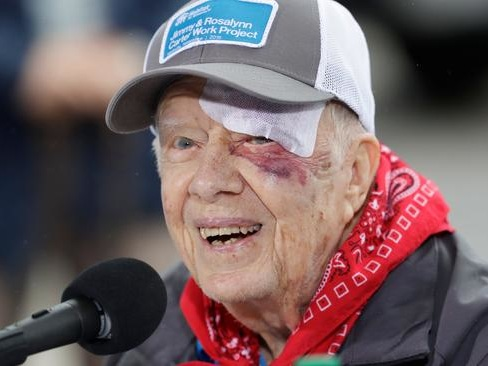 Jimmy Carter Hospitalized For Brain Surgery