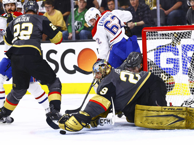 Graney: Marc-Andre Fleury at best when Knights needed him
