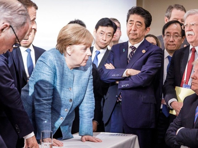 International summits like the G20 always seem to bring out the worst in Trump