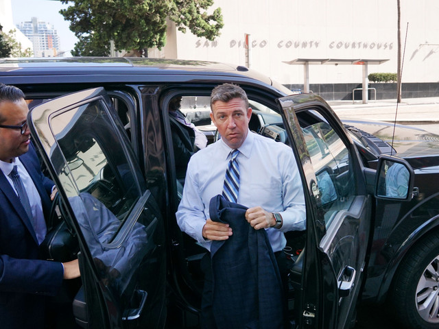 Rep. Duncan Hunter To Resign After Holidays