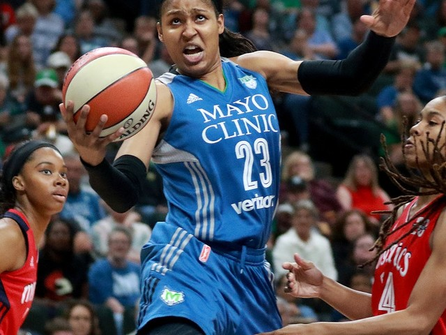Lynx forward Maya Moore rediscovering her scoring touch
