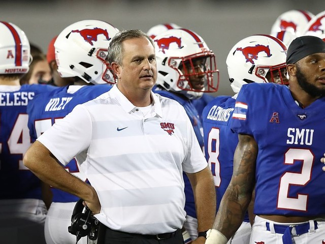 Sonny Dykes' SMU offense has more questions than his defense? What?