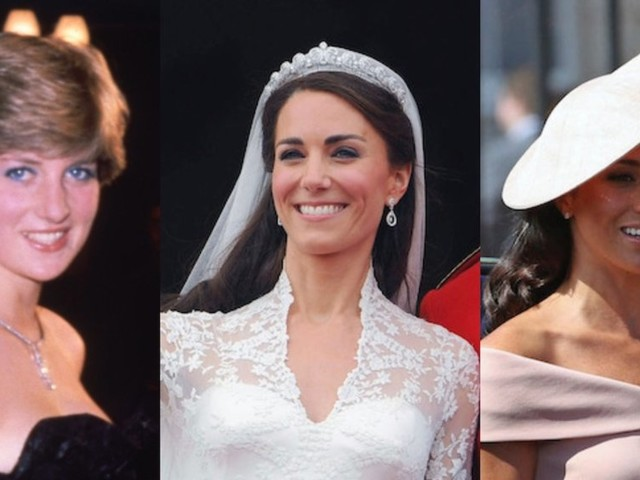 THEN AND NOW: What Kate Middleton, Meghan Markle, and the other royals looked like the year they married into the world's most famous family
