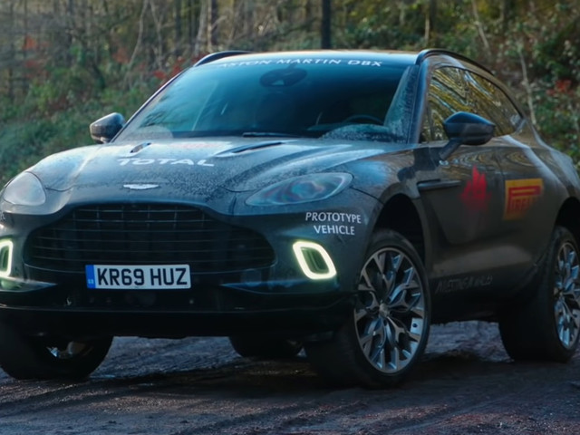 Imagine That; The Aston Martin DBX Actually Cuts It As An SUV