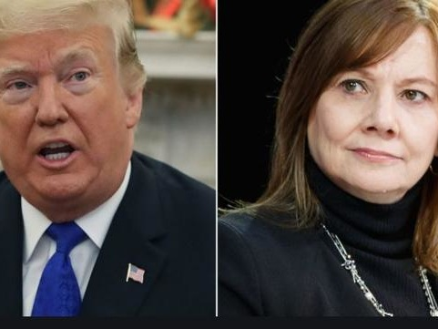 GM's Mary Barra To Meet Trump In Oval Office Thursday