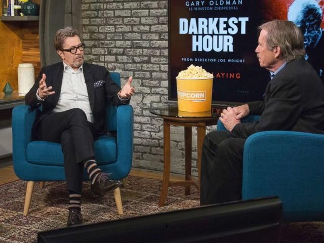 'Darkest Hour' star Gary Oldman on his remarkable transformation into Churchill