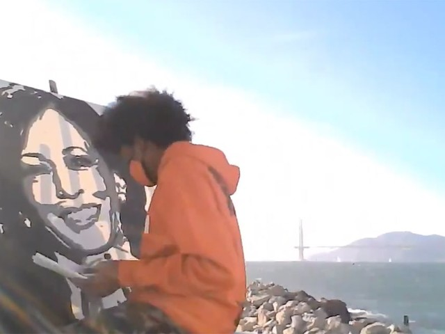 Bay Area Teen Artist Gets Phone Call From Kamala Harris After Portrait Goes Viral