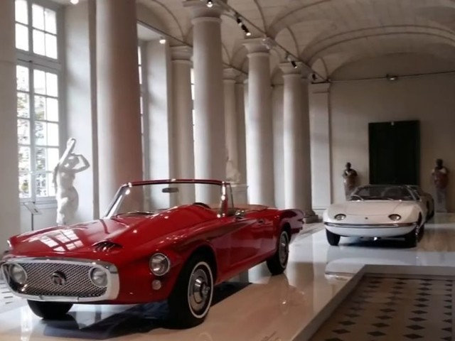Revival of world's oldest car museum begins with exhibit dedicated to concept cars