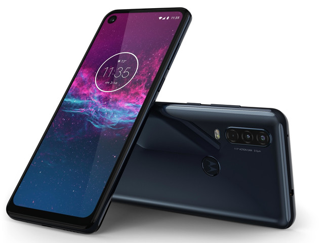Motorola One Action unveiled with triple-lens camera, hole-punch display, and a surprisingly low price