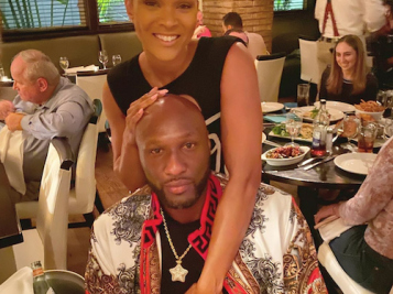 ENGAGED! Lamar Odom Pops The Question To Sabrina Parr With A HUGE Diamond Ring