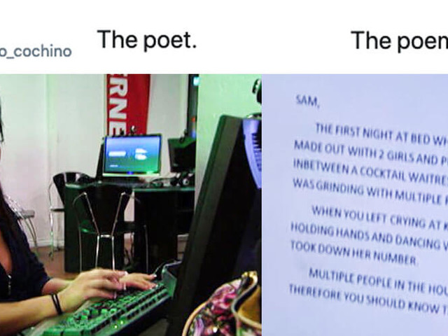 'The poet, the poem' meme takes iconic lines and turns them into art