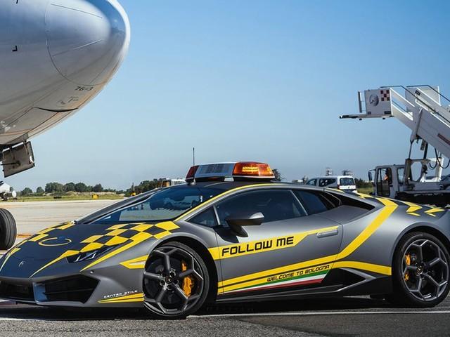 Bologna Airport Gets A New Lamborghini Huracan 'Follow Me' Car