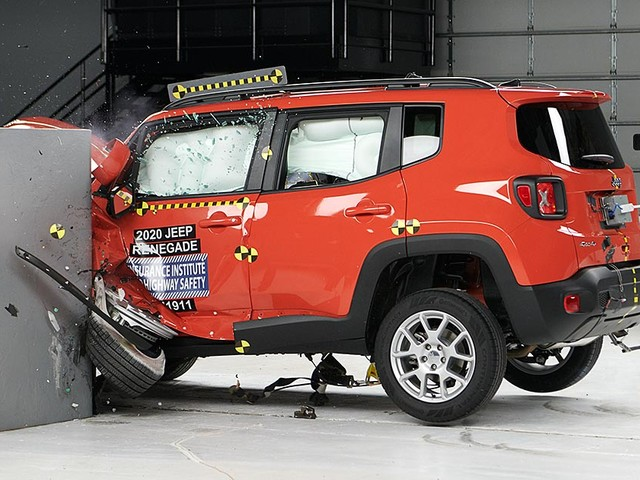 2020 Jeep Renegade earns safety award