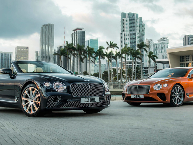 Bentley Unveils Continental GT V8 Models With 542 HP On Tap