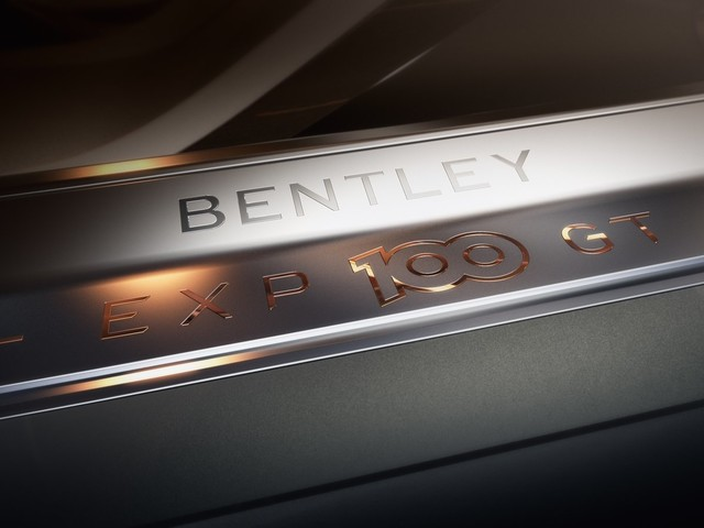 Bentley Will Honor Its 100th Birthday With the Futuristic EXP 100 GT