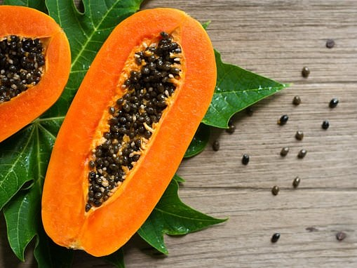 Mexican papayas contaminated with salmonella bacteria have sickened 62 people in eight states