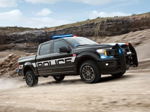 2018 Ford F-150 Police Responder Is First-Ever Pursuit Pickup