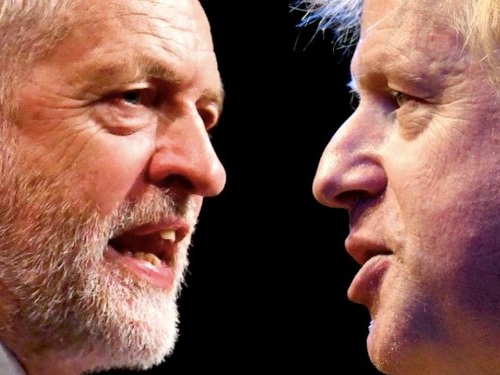 Jeremy Corbyn challenges opponents to make him prime minister in order to stop Boris Johnson forcing a no-deal Brexit