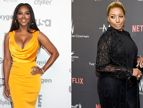 Kenya Moore 'Excited' To Be Returning To 'RHOA' As NeNe Leakes Becomes 'Nervous' About Show's Future
