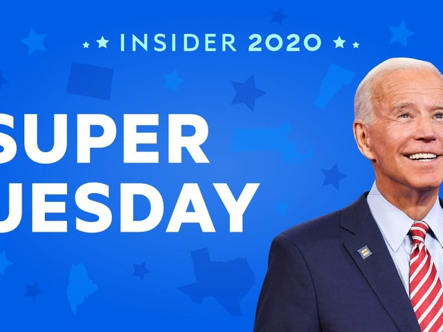 LIVE UPDATES: Joe Biden dominated Super Tuesday but Sanders is holding strong in California — see the full results with live vote counts and breaking news