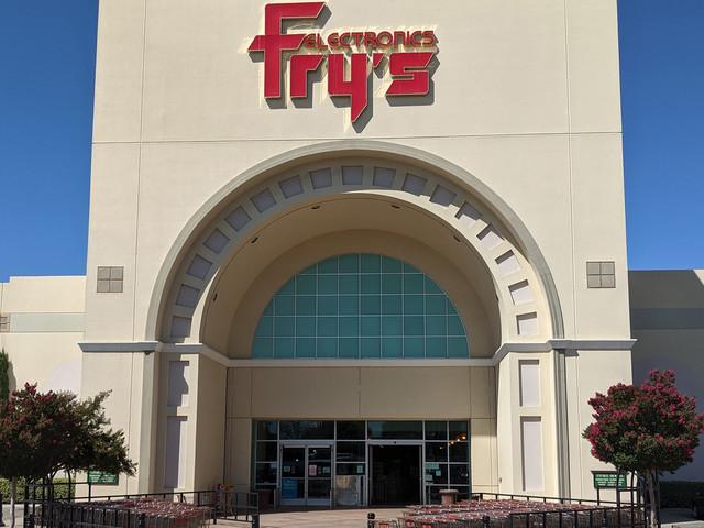 Goodbye Fry's Electronics, we hardly knew ye