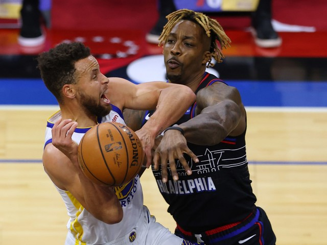 Warriors-76ers: Steph Curry gets MVP chants on Joel Embiid's home floor after dropping 49 points