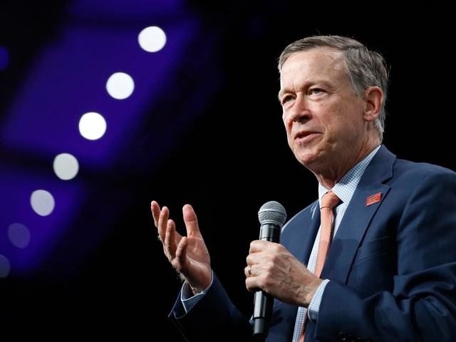 Hickenlooper joins crowded Senate race in Colorado after dropping presidential bid