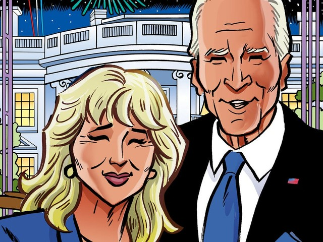 Joe and Jill Biden will get joint comic book, 'First Family: The Bidens,' this fall